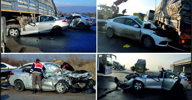 Zincirleme kaza:5 yaralı