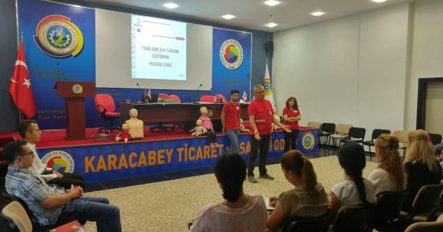 KTSO, Kızılay işbirliği ile ilkyardım eğitimi