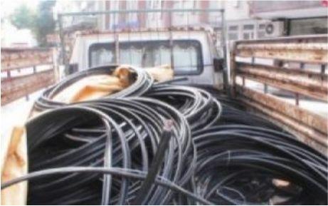 Kablo hırsızlığına Jandarma darbesi