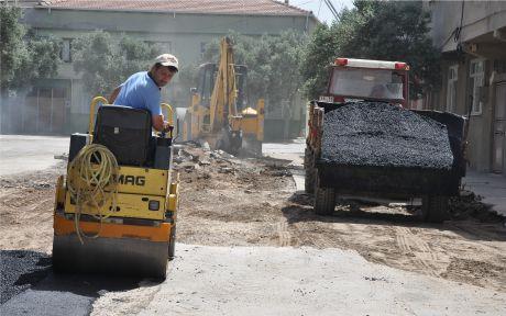Karacabey asfaltlanıyor