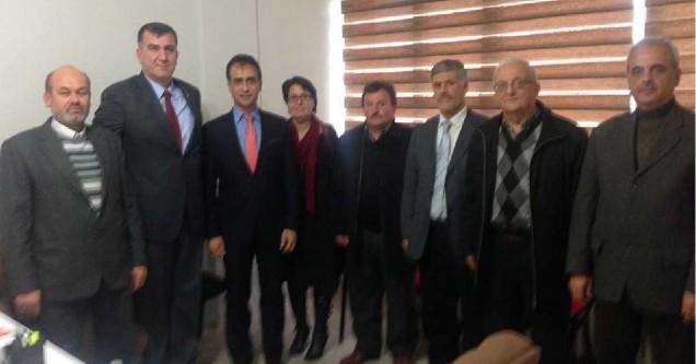 Karacabeyliler Derneği'nden MHP'ye ziyaret