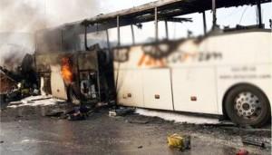 Bursa'daki kazanın ateşi Karacabey'e düştü