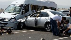 Bayramda  kaza bilançosu: 134 kişi öldü