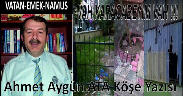 VAH KARACABEYİM VAH !!!