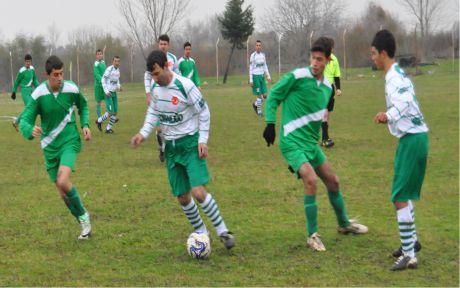 Köyler Ligi'nde gol yağmuru