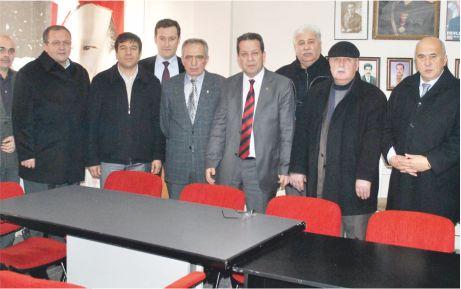 KTSO yöneticileri, MHP ve Müftü'yü unutmadı