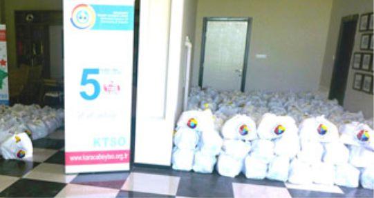 KTSO'dan 'Ramazan' yardımları