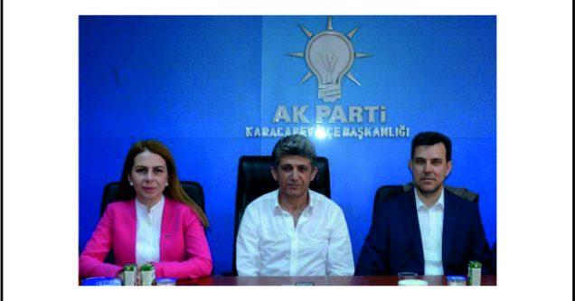 """AK Parti ile güçlü Türkiye, güçlü Karacabey"""""""