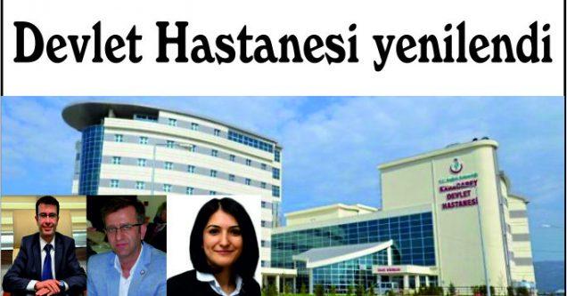 Devlet Hastanesi yenilendi