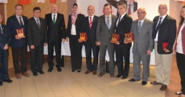 MHP meclis üyeleri onurlandırıldı