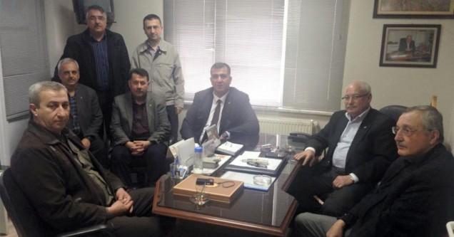 MHP'den Karahasanoğlu'na tebrik ziyareti