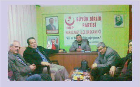 MHP'den BBP'ye dostluk ziyareti