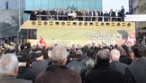Demokrat Parti Genel Başkanı Gültekin Uysal Karacabey'de