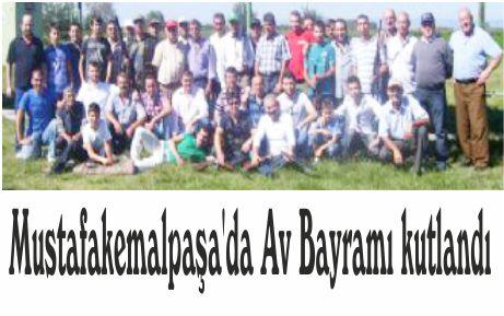 Mustafakemalpaşa'da Av Bayramı kutlandı