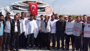 Açlık grevindeki Nestle işçisine destek yağıyor