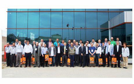 NSK, şirket temsilcilerini ağırladı
