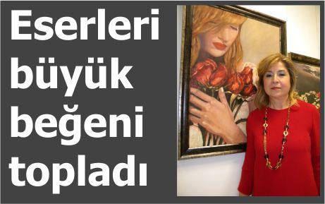 Nurşen Dinç'in resim sergisi