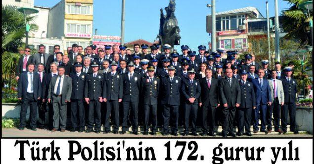 Türk Polisi'nin 172. gurur yılı
