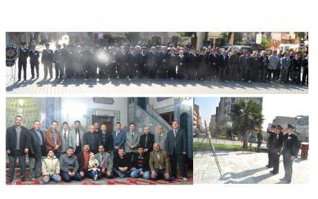 Polis Günü'nde Ata'ya saygı