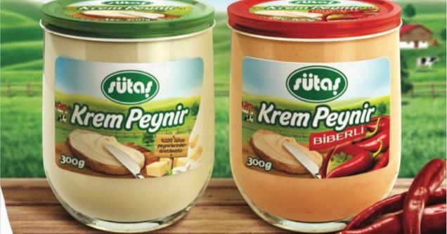 Sütaş Krem Peynir şimdi de cam bardakta!