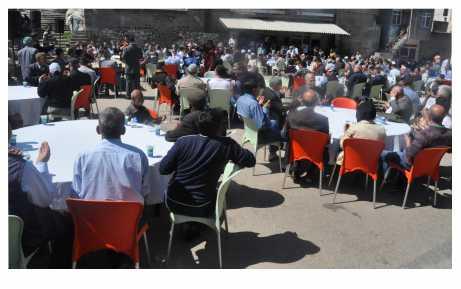 Saadet ve Hamidiye halkından anlamlı etkinlik