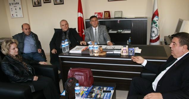 CHP Başkan Adayı Ayhan Kutku Esnaf Odalarını ziyaret etti