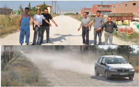 Seçim yaklaşıyor, asfalt istiyoruz!