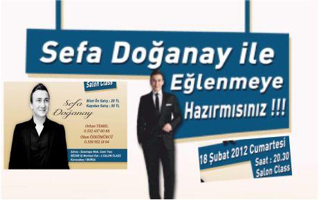 Sefa Doğanay, Karacabey'e geliyor!