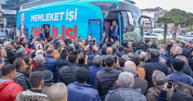 Soylu, Başkan Özkan için destek istedi