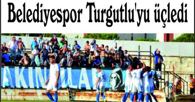 Belediyespor Turgutlu'yu üçledi