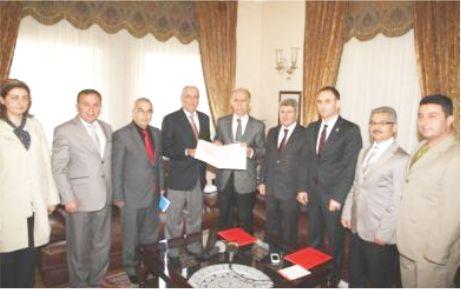 Spor Salonu protokolü imzalandı