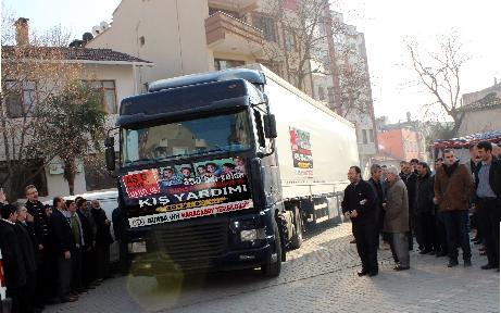 Karacabey'den Suriye'ye yardım eli