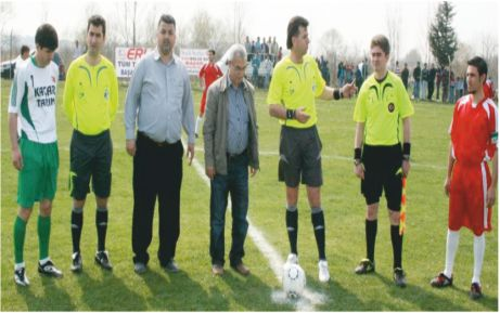 Taşlık'ta futbol heyecanı başladı