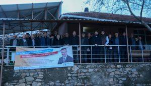 Başkan Özkan'ın 'Halil İbrahim Sofrası' buluşmaları hız kesmiyor