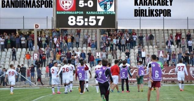 Bandırmaspor 5-0 Karacabey Birlikspor
