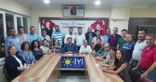M.K.Paşa İYİ Parti görev  dağılımını yaptı