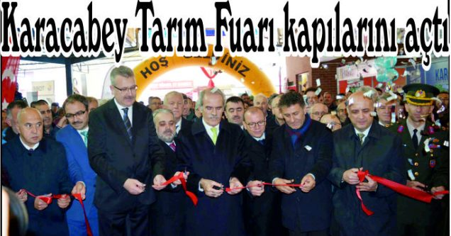 Karacabey  Tarım Fuarı  kapılarını açtı