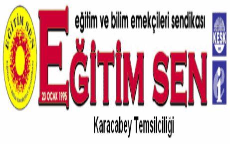 Türk Eğitim Sen çamur atıyor!