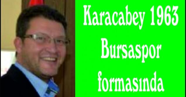 Karacabey 1963 Bursaspor formasında