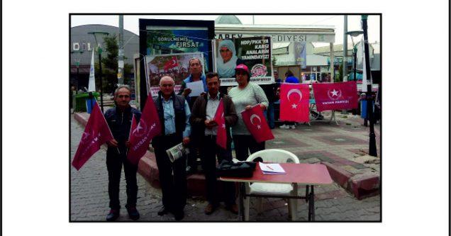 Vatan Partisi Diyarbakırlı annelerin yanında!