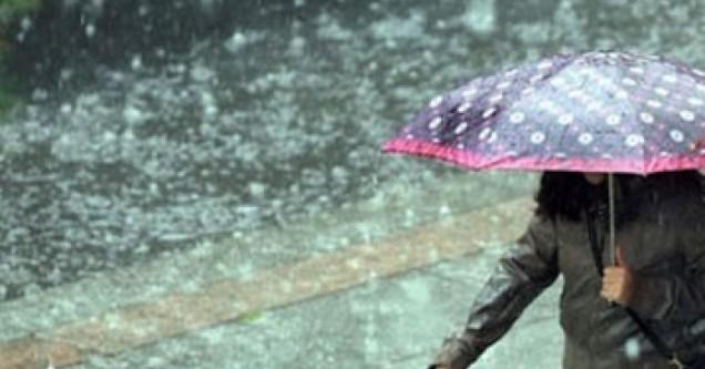 Karacabey'de  ilk cemre  yağmurla  düştü